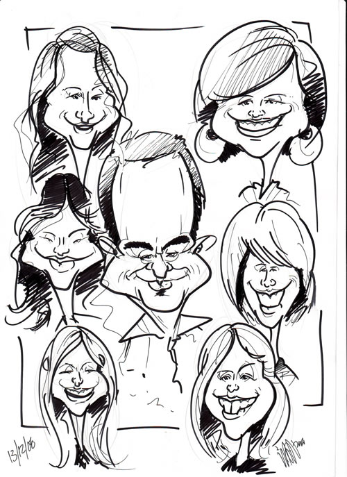 team-caricatures